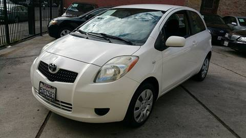 2007 Toyota Yaris for sale at Joy Motors in Los Angeles CA