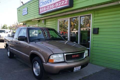 2003 GMC Sonoma for sale in Sacramento, CA