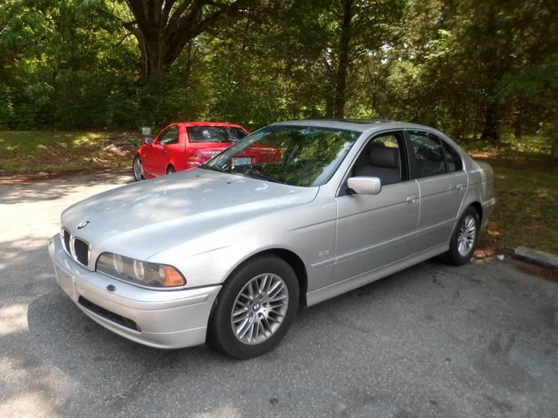 2002 BMW 5 Series 530i 4dr Sedan - Morrisville NC