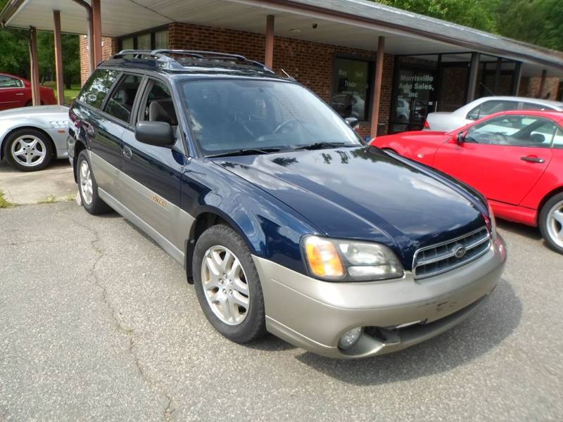 2001 Subaru Outback AWD 4dr Wagon - Morrisville NC
