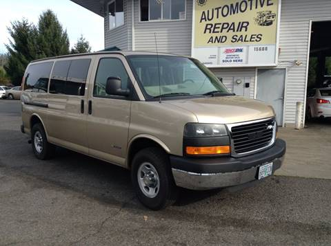 2005 Chevrolet Express Passenger for sale in Clackamas, OR