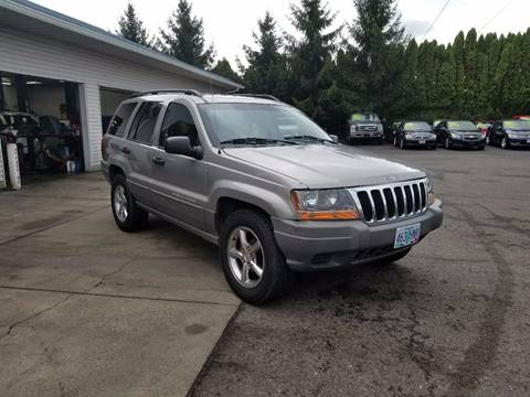 2002 Jeep Grand Cherokee for sale in Clackamas, OR