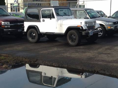 1990 Jeep Wrangler for sale in Clackamas, OR