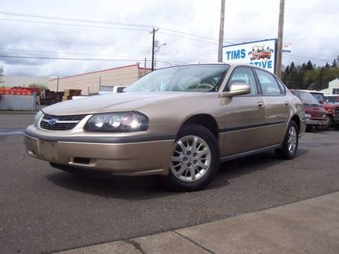 2004 Chevrolet Impala for sale in Clackamas, OR