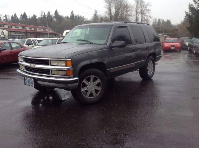 1999 Chevrolet Tahoe 4dr LS 4WD SUV - Clackamas OR