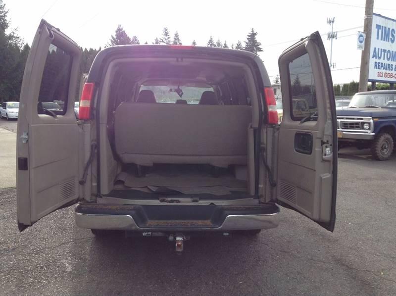 2005 Chevrolet Express Cargo 3500 3dr Van - Clackamas OR