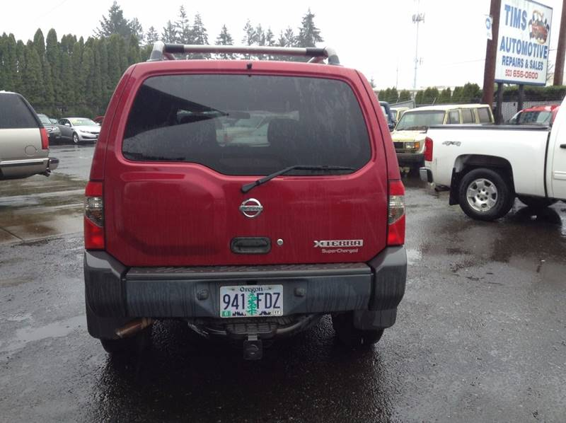 2002 Nissan Xterra 4dr SE Supercharged 4WD SUV - Clackamas OR