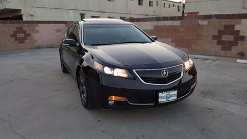2012 Acura TL for sale in Van Nuys, CA
