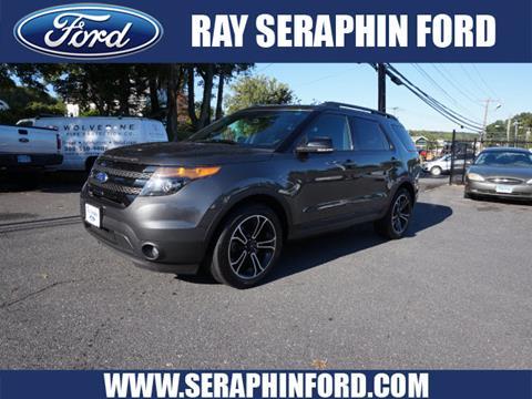 2015 Ford Explorer for sale in Vernon Rockville, CT