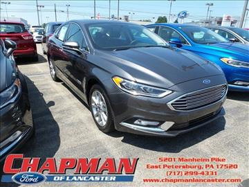 2017 Ford Fusion Energi for sale in East Petersburg, PA