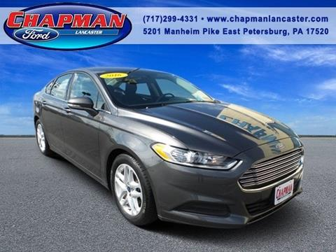 2016 Ford Fusion for sale in East Petersburg, PA