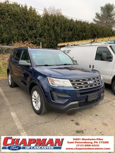 2016 Ford Explorer In East Petersburg Pa Chapman Ford Lancaster