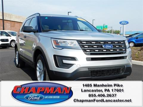 2016 Ford Explorer for sale in East Petersburg, PA