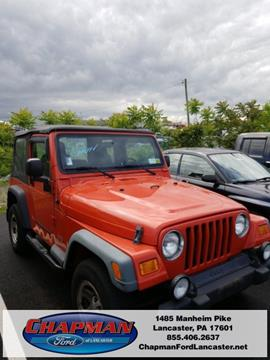 2006 Jeep Wrangler for sale in East Petersburg, PA