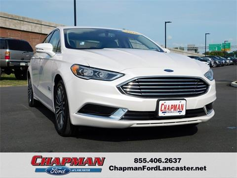 2018 Ford Fusion Energi for sale in East Petersburg, PA