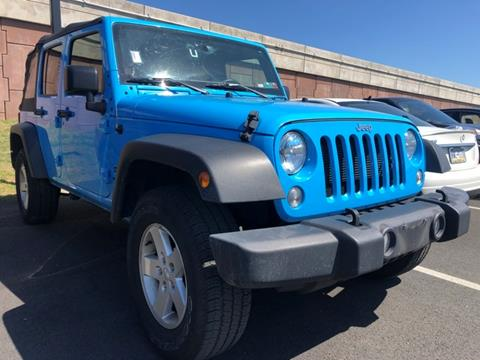 2018 Jeep Wrangler Unlimited for sale in East Petersburg, PA