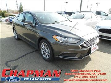 2017 Ford Fusion for sale in East Petersburg, PA