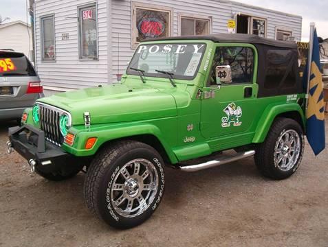 1999 Jeep Wrangler for sale in Elkhart, IN
