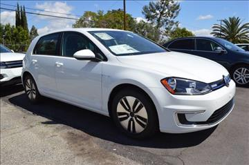 2016 Volkswagen e-Golf for sale in Covina, CA