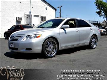 2008 Toyota Camry for sale in Ontario, CA