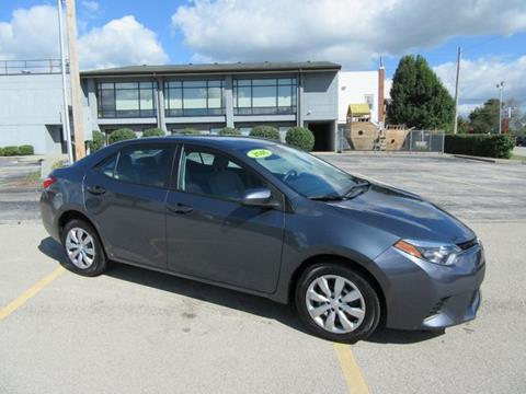 2016 Toyota Corolla for sale in Frankfort, KY