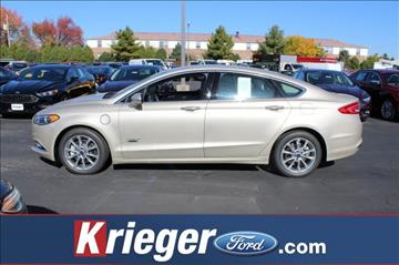 2017 Ford Fusion Energi for sale in Columbus, OH