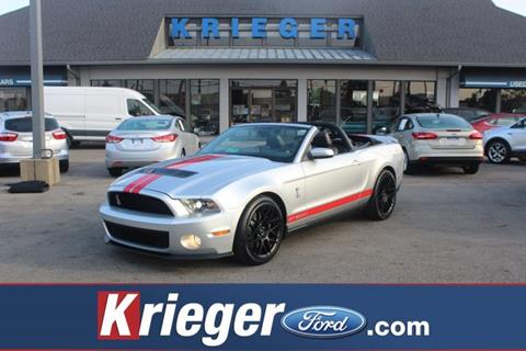 2011 Ford Shelby GT500 for sale in Columbus, OH