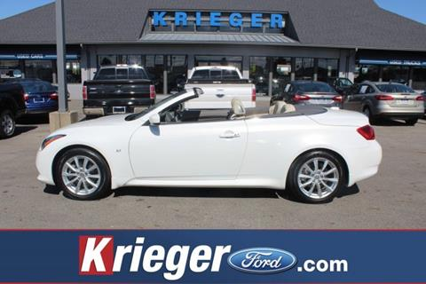 2014 Infiniti Q60 Convertible for sale in Columbus, OH