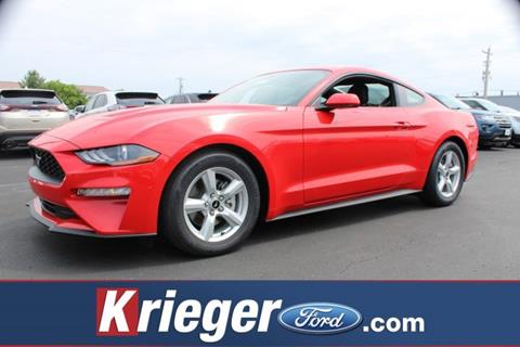 2018 ford mustang for sale in ohio. Black Bedroom Furniture Sets. Home Design Ideas