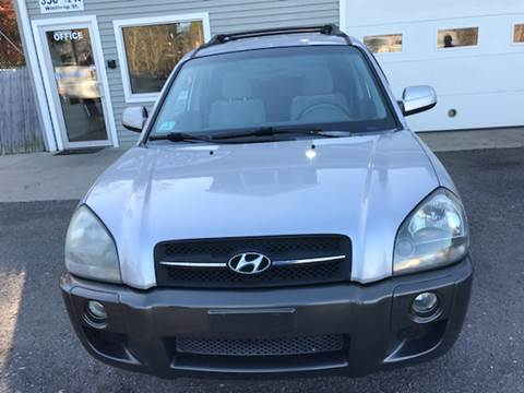 2005 Hyundai Tucson for sale at Leo's Auto Sales and Service in Taunton MA