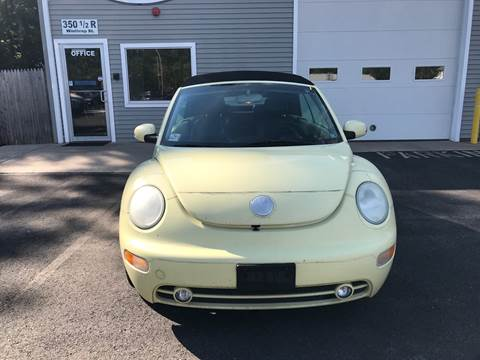 2005 Volkswagen New Beetle for sale at Leo's Auto Sales and Service in Taunton MA