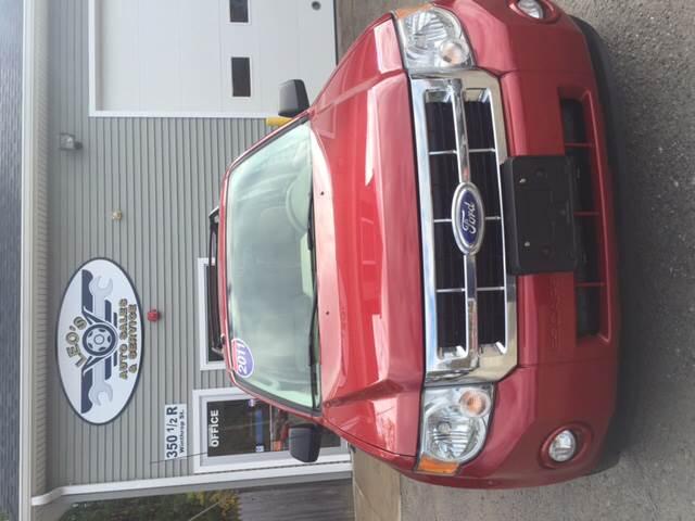 2011 Ford Escape for sale at Leo's Auto Sales and Service in Taunton MA