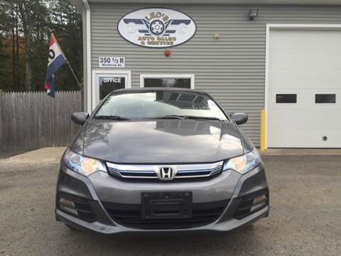 2012 Honda Insight for sale at Leo's Auto Sales and Service in Taunton MA
