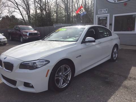 2014 BMW 5 Series for sale at Leo's Auto Sales and Service in Taunton MA