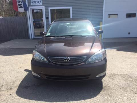 2002 Toyota Camry for sale at Leo's Auto Sales and Service in Taunton MA