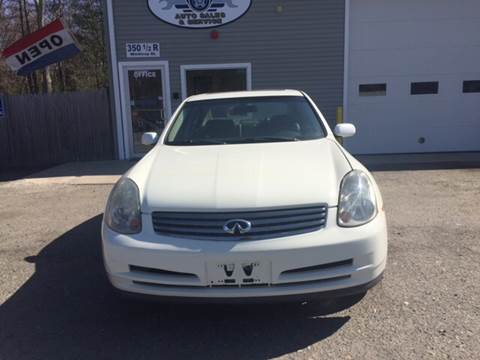 2003 Infiniti G35 for sale at Leo's Auto Sales and Service in Taunton MA