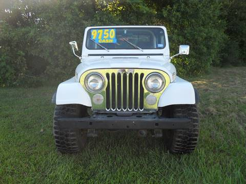 1977 Jeep CJ-5 for sale in Conroe, TX