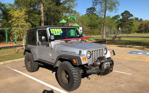 2004 Jeep Wrangler for sale in Conroe, TX