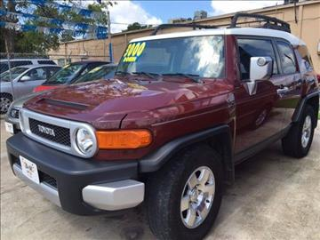 2008 Toyota FJ Cruiser for sale in Conroe, TX