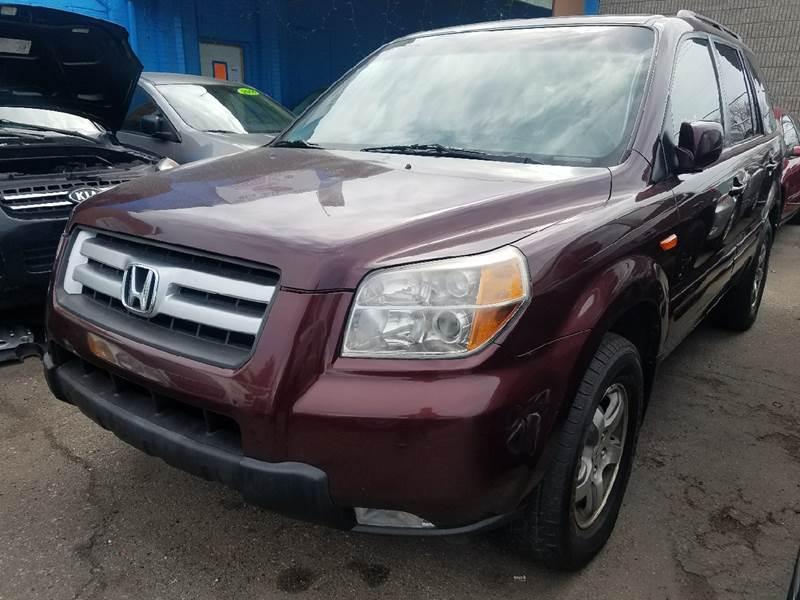 2008 Honda Pilot for sale at The Bengal Auto Sales LLC in Hamtramck MI