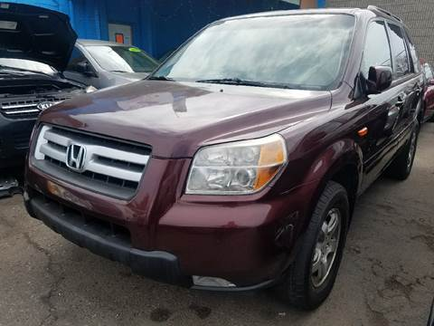 2008 Honda Pilot for sale at The Bengal Auto Sales LLC in Hamtramck MI