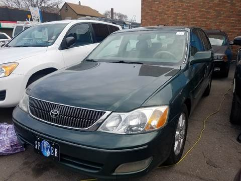 2002 Toyota Avalon for sale at The Bengal Auto Sales LLC in Hamtramck MI