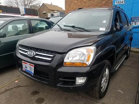 2006 Kia Sportage for sale at The Bengal Auto Sales LLC in Hamtramck MI
