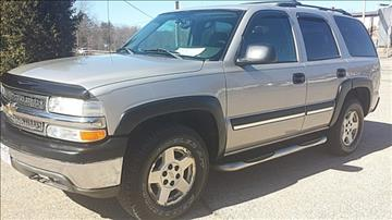 2004 Chevrolet Tahoe for sale in New London, WI