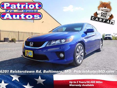2015 Honda Accord for sale in Baltimore MD