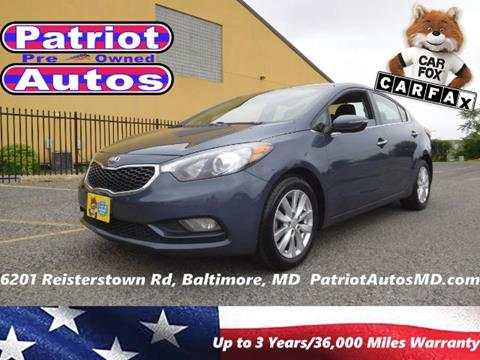 2014 Kia Forte for sale in Baltimore MD