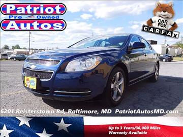 2012 Chevrolet Malibu for sale in Baltimore, MD
