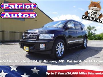 2008 Infiniti QX56 for sale in Baltimore, MD