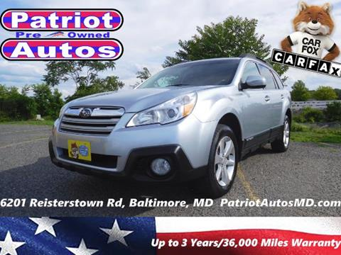 2013 Subaru Outback for sale in Baltimore, MD