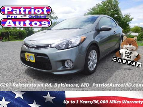 2014 Kia Forte Koup for sale in Baltimore MD